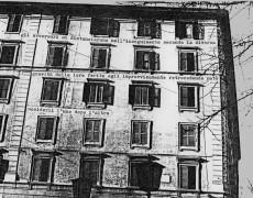 S.P.Q.R. intervento urbano, Testaccio, Roma-1976