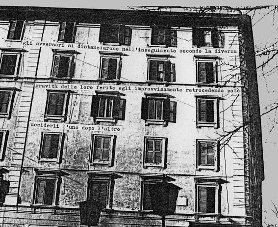 10 S.P.Q.R. intervento urbano, Testaccio, Roma 1976