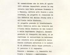 Mulino Stucky, Venezia-1975 (Gruppo Salerno 75)