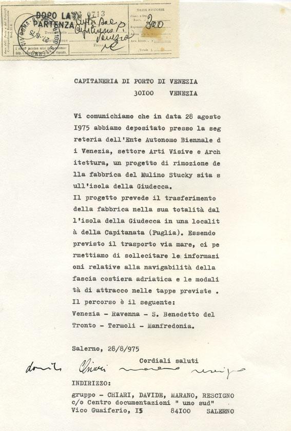 16 Mulino Stucky, Venezia 1975 (Gruppo Salerno 75)