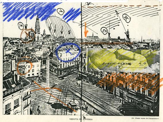 17 Progetto Rubens, Anversa 1976 (Gruppo Salerno 75)