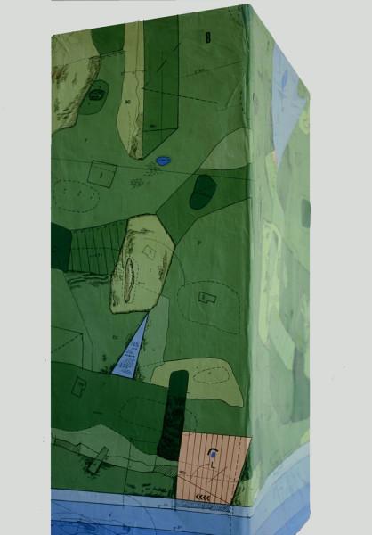 18-Pezzo di paesaggio-  1974