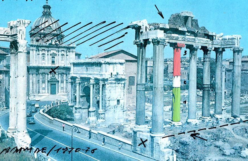 20- S.P.Q.R.  ( Passeggiata romana ) 1976