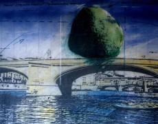 Installazione Urbana Mobile-1983 Ponte S. Trinita, Firenze