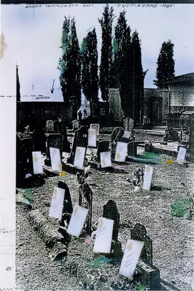 23-Visitazione 1985, ( installazione ambientale)