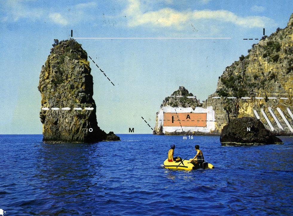 3-Modificazione della costa tra Capo Palinuro e Marina di Camerota, 1970-71